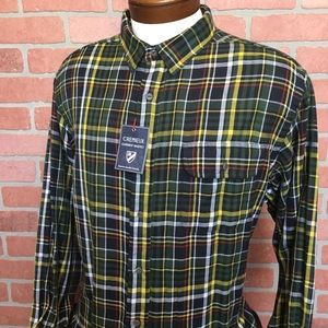 Cremieux NWT Sycamore Button Front Shirt (4Z20-22)